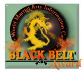 Black Belt Award